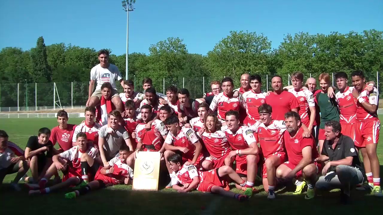 Les cadets Champions 2017